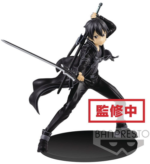 Sword Art Online EXQ Figure Collection Kirito 7.9-Inch Collectible PVC Figure [Aincrad]