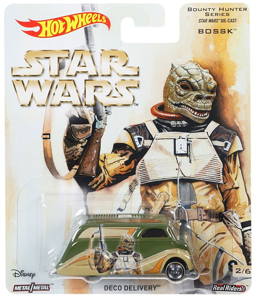 Hot Wheels Star Wars Bounty Hunter Series Deco Delivery Die-Cast Car [Bossk]