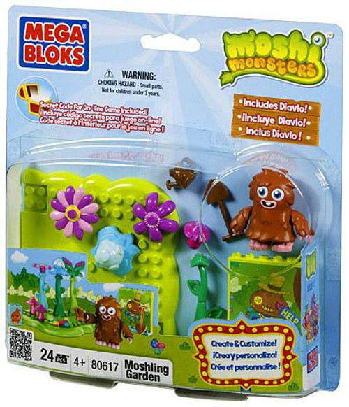Mega Bloks Moshi Monsters Moshling Garden Set #80617 [Loose]