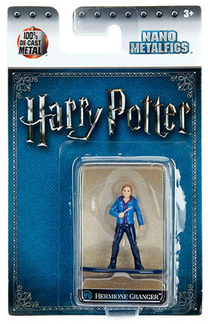 Harry Potter Nano Metalfigs Hermione Granger 1.5-Inch Diecast Figure HP16 [Year 7]