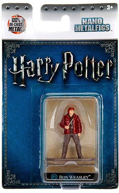 Harry Potter Nano Metalfigs Ron Weasley 1.5-Inch Diecast Figure HP15