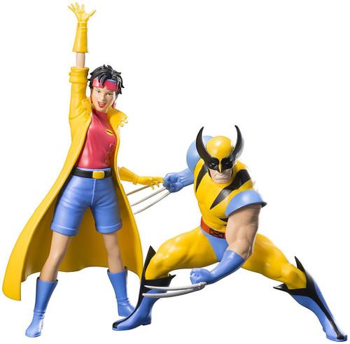 Marvel X-Men '92 ArtFX+ Wolverine & Jubilee Statue 2-Pack