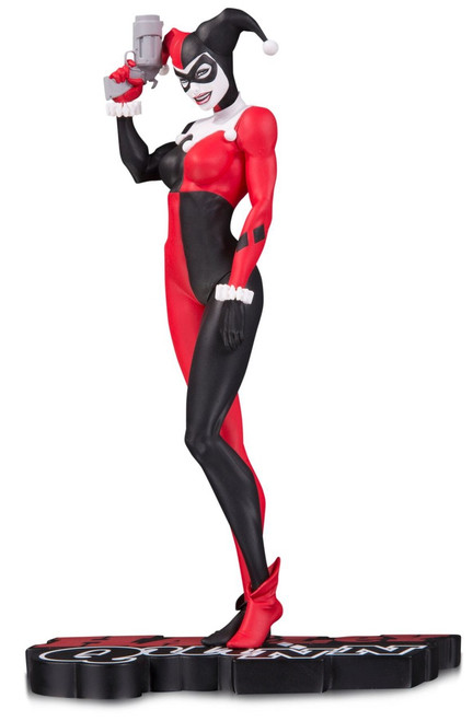 Batman Harley Quinn Red, White & Black Harley Quinn 7.2-Inch Statue [Michael Turner]