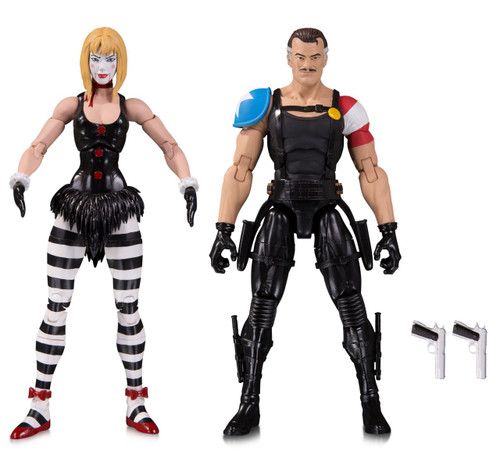 DC Watchmen Doomsday Clock Comedian & Marionette Action Figure 2-Pack