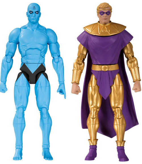 DC Watchmen Doomsday Clock Dr. Manhatten & Ozymandias Action Figure 2-Pack