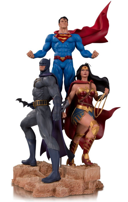 DC Designer Series Trinity (Superman, Batman & Wonder Woman) 19.3-Inch Statue [Jason Fabok]