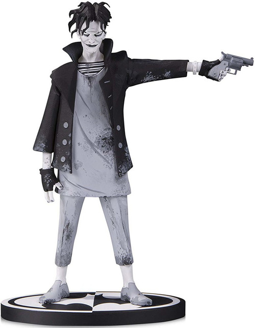 Batman Black & White The Joker 7-Inch Statue [Gerard Way]
