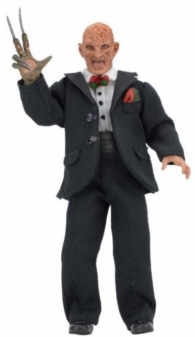 NECA Nightmare on Elm Street Part 3 Dream Warriors Tuxedo Freddy Krueger Clothed Action Figure