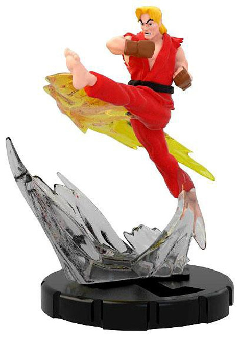 Street Fighter HeroClix Ken Figure #021