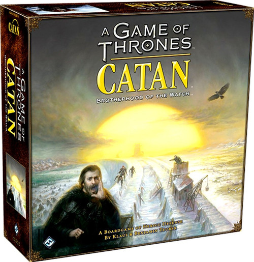 Game of Thrones Catan Brotherhood Of The Watch Board Game [Stand Alone]