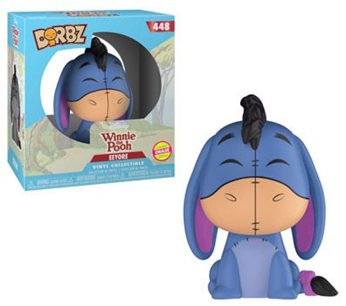 Funko Disney Winnie the Pooh Dorbz Eeyore Vinyl Figure #448 [Blue, Chase Version]