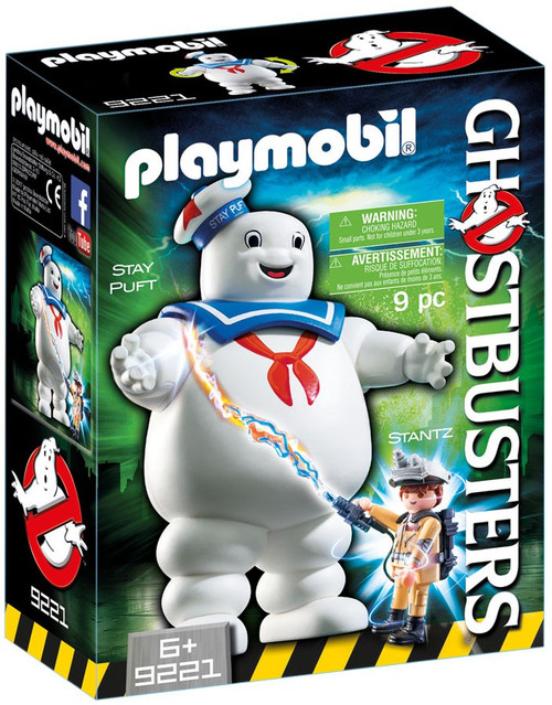 Playmobil Ghostbusters Stay Puft Marshmallow Man Set #9221 [Damaged Package]