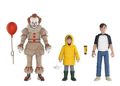 Funko IT Movie (2017) Pennywise, Georgie & Bill Action Figure 3-Pack