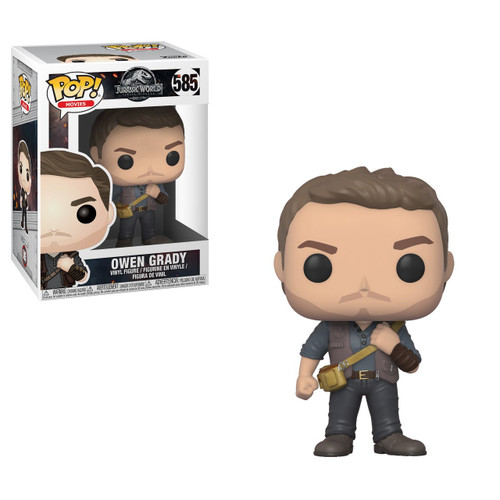 Funko Jurassic World Fallen Kingdom POP! Movies Owen Grady Vinyl Figure #585