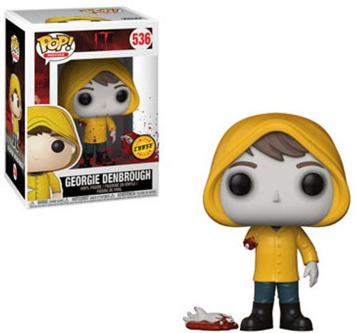 Funko IT POP! Movies Georgie Denbrough Vinyl Figure #536 [Bloody Arm, Chase Version]