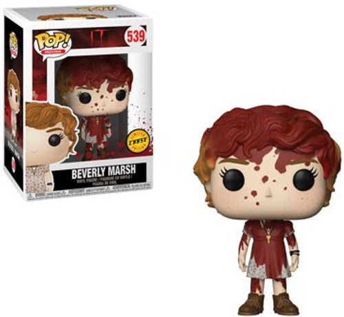 Funko IT POP! Movies Beverly Marsh Vinyl Figure #539 [Bloody, Chase Version]