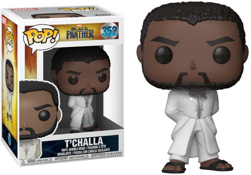 Funko Marvel Black Panther POP! Movies T'Challa Vinyl Figure #352 [White Robe]