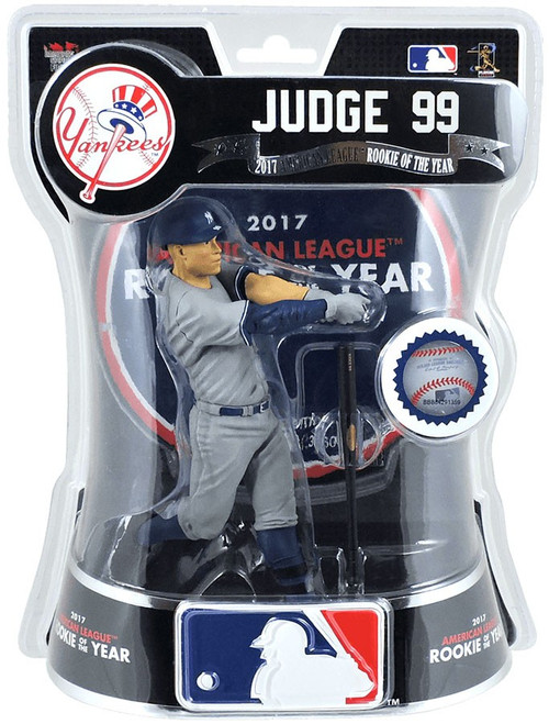 MLB New York Yankees Aaron Judge Action Figure [Limited Edition AL Rookie of the Year]
