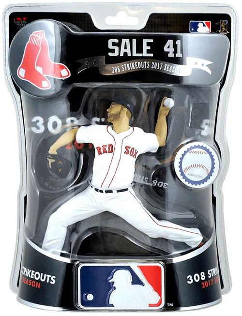 MLB Boston Red Sox Chris Sale Action Figure [308 Strikeouts 2017 Season]