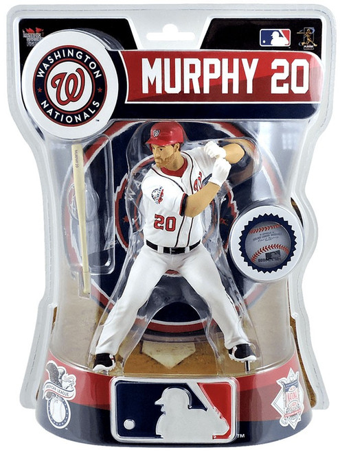 MLB Washington Nationals Daniel Murphy Action Figure