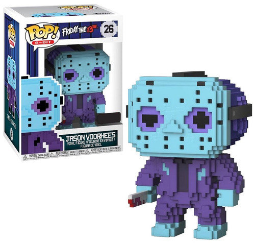 Funko Friday the 13th POP! 8-Bit Jason Voorhees Exclusive Vinyl Figure #26 [NES Colors]