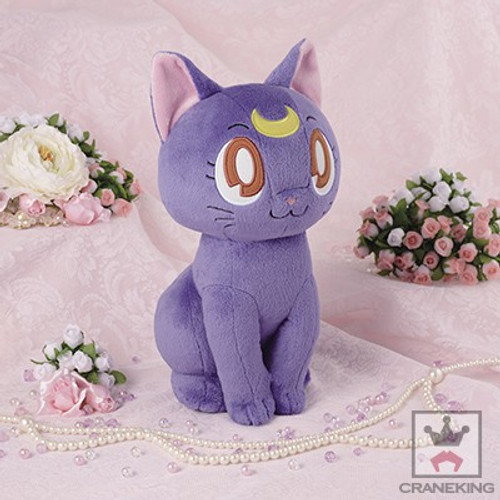 Sailor Moon Luna 14-Inch Plush