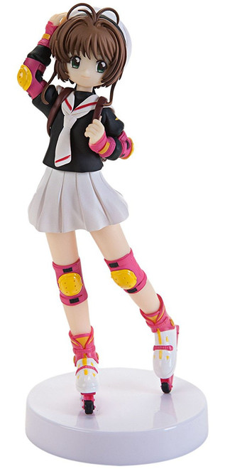 Cardcaptor Sakura Sakura Kinomoto 6.7-Inch Collectible PVC Figure [School Uniform]