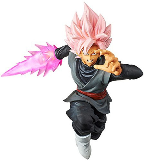 Dragon Ball Super Goku Black Super Saiyan Rose 5.9-Inch Collectible PVC Figure [Shin Retsu Zan]