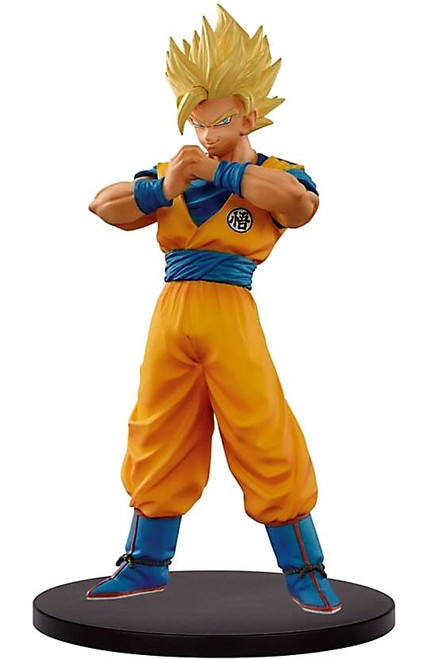 Super Dragon Ball Heroes DXF Figure Vol. 1 Super Saiyan 2 Son Goku 7.1-Inch Collectible PVC Figure