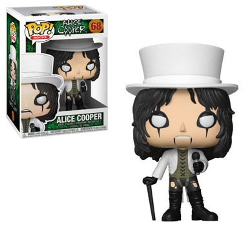 Funko POP! Rocks Alice Cooper Vinyl Figure #68 [White Top Hat]