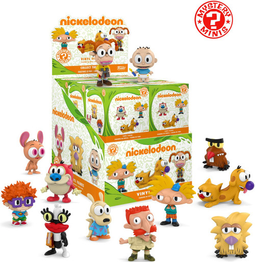 Funko Mystery Minis Nickelodeon Mystery Box [12 Packs]