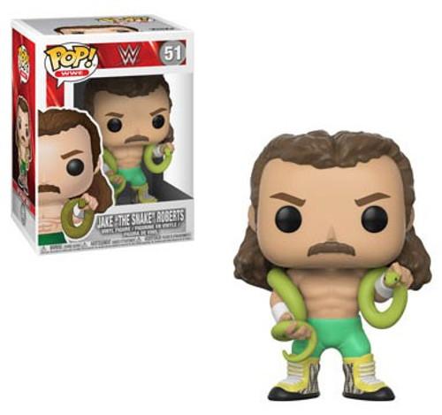 Funko WWE Wrestling POP! Sports Jake the Snake Vinyl Figure #51 [Green Pants, Regular Version]