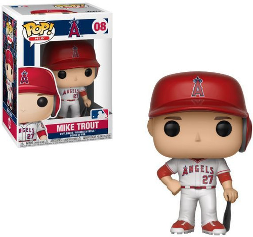 Funko MLB Los Angeles Angels POP! Sports Baseball Mike Trout Vinyl Figure #08