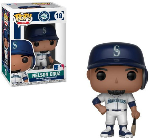 Funko MLB Seattle Mariners POP! Sports Baseball Nelson Cruz Vinyl Figure #19