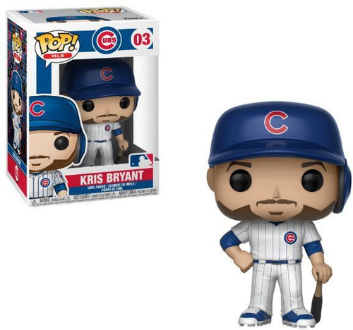 Funko MLB Chicago Cubs POP! Sports Baseball Kris Bryant Vinyl Figure #03