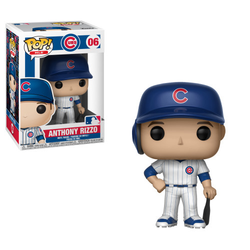 Funko MLB Chicago Cubs POP! Sports Baseball Anthony Rizzo Vinyl Figure #06 [White Uniform]