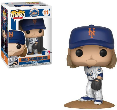 Funko MLB New York Mets POP! Sports Baseball Noah Syndergaard Vinyl Figure #11
