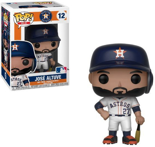 Funko MLB Houston Astros POP! Sports Baseball Jose Altuve Vinyl Figure #12