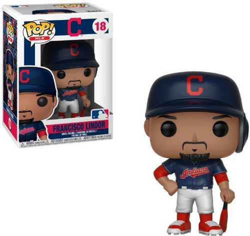 Funko MLB Cleveland Indians POP! Sports Baseball Francisco Lindor Vinyl Figure #18