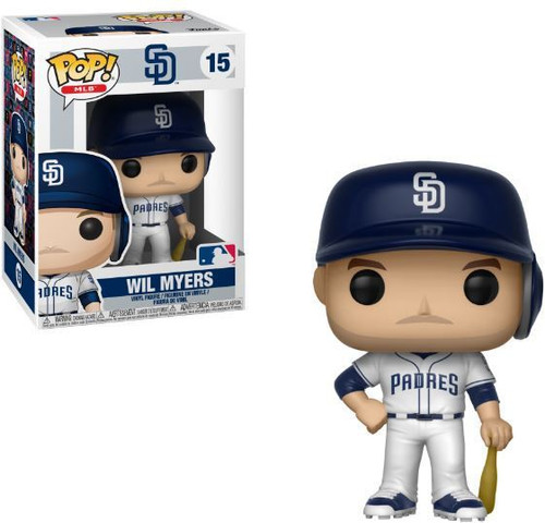 Funko MLB San Diego Padres POP! Sports Baseball Wil Meyers Vinyl Figure #15