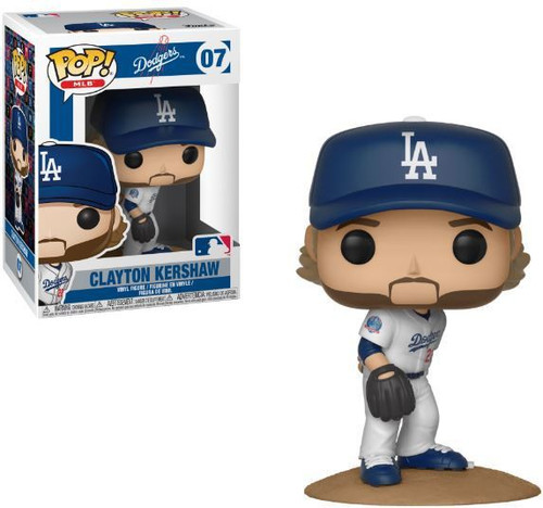 Funko MLB Los Angeles Dodgers POP! Sports Baseball Clayton Kershaw Vinyl Figure