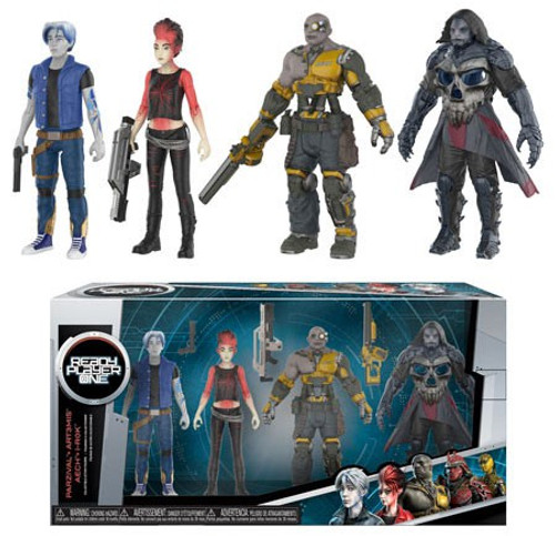Funko Ready Player One Parzival, Aech, Art3mis & i-R0k Action Figure 4-Pack