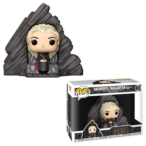 Funko Game of Thrones POP! TV Daenerys on Dragonstone Throne Deluxe Vinyl Figure #63