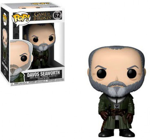 Funko Game of Thrones POP! TV Davos Seaworth Vinyl Figure #62
