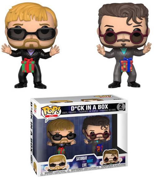 Funko Saturday Night Live POP! TV D*ck In A Box Vinyl Figure 2-Pack