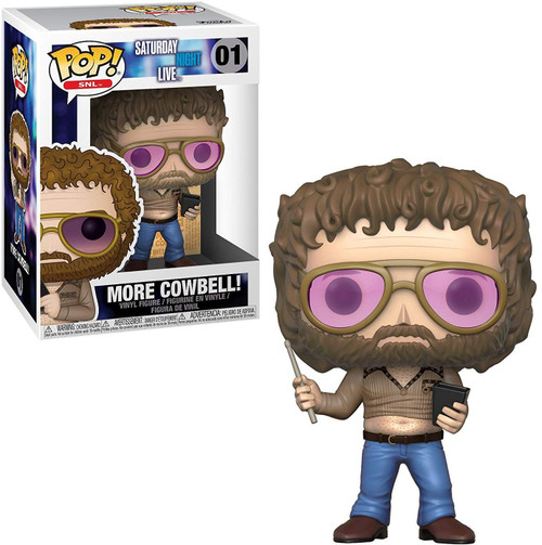 Funko Saturday Night Live POP! TV More Cowbell! Vinyl Figure #01 [Gene Frenkle]