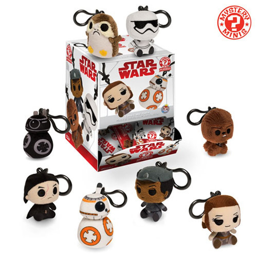 Funko Star Wars Mystery Minis Plush Keychains The Last Jedi Mystery Box [18 Packs]