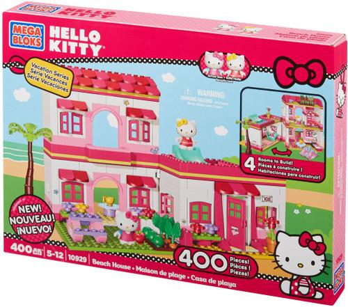 Mega Bloks Hello Kitty Beach House Set #10929 [Damaged Package]