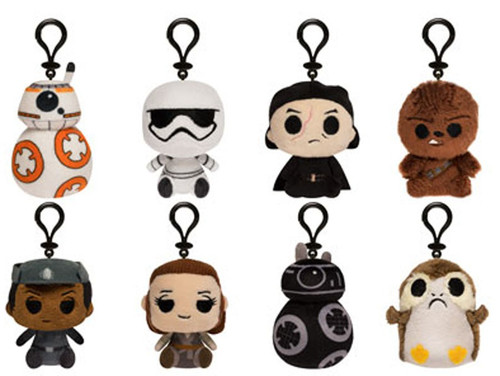 Funko Star Wars Mystery Minis Plush Keychains The Last Jedi Mystery Pack