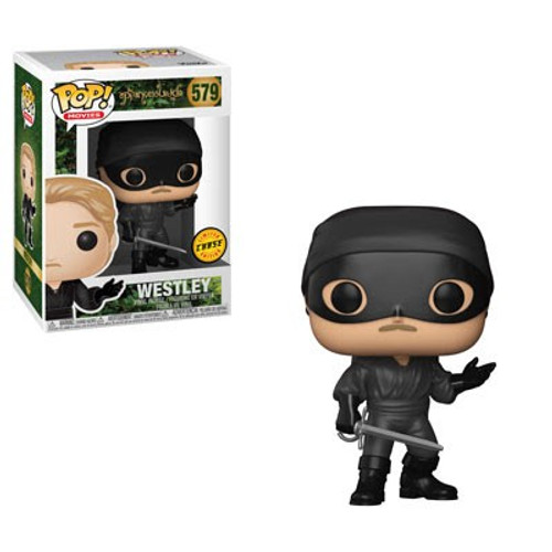 Funko The Princess Bride POP! Movies Westley Vinyl Figure #579 [Masked, Chase Version]